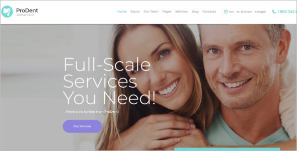 Healthcare WordPress Website Theme
