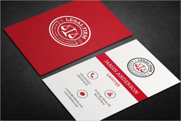 High Resolutation Lawyer Business Card