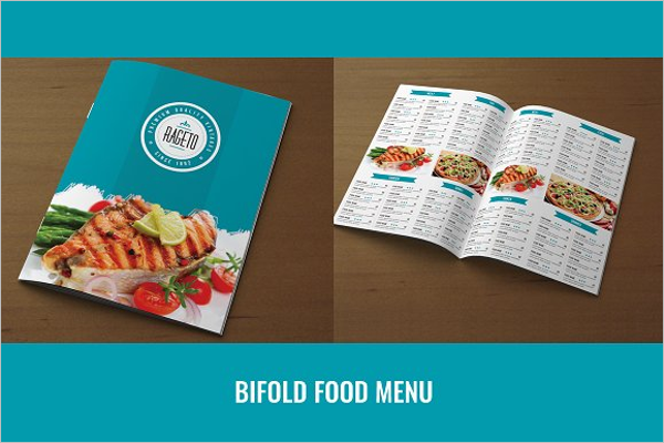 High Resolution Catering Menu Template