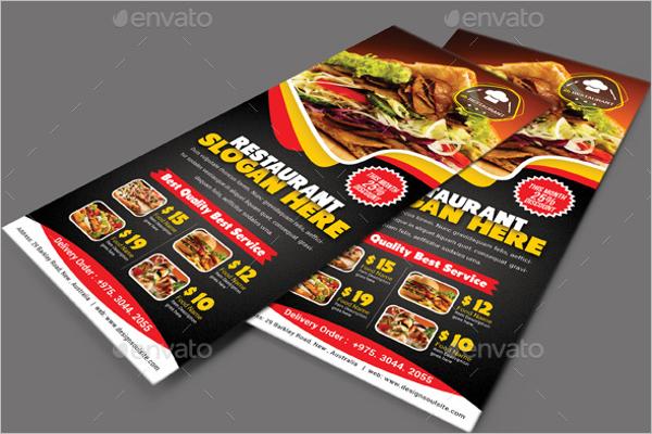24  lunch flyer templates free invitation design ideas
