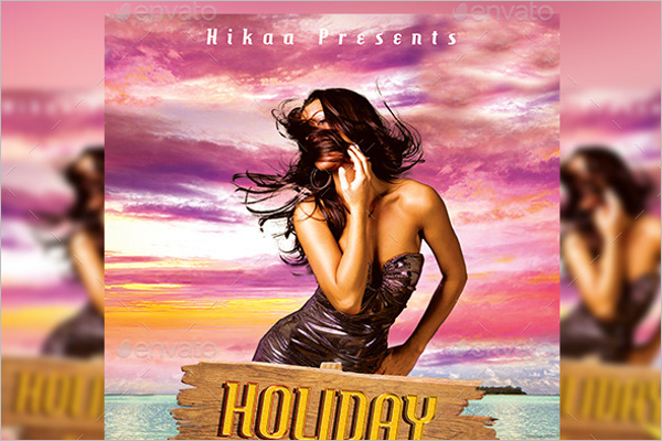 Holiday Party Example Template
