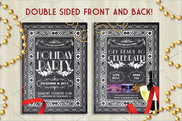 Holiday Party Flyer Ideas