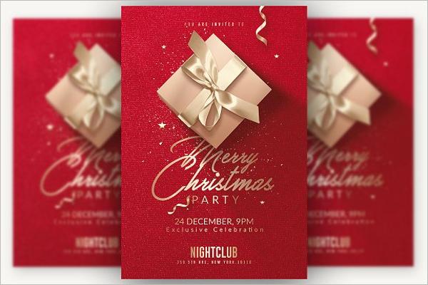 Holiday Party Invitation Design