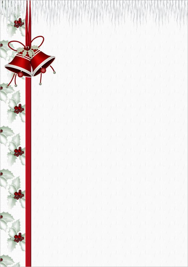 Holiday Stationery Paper Design
