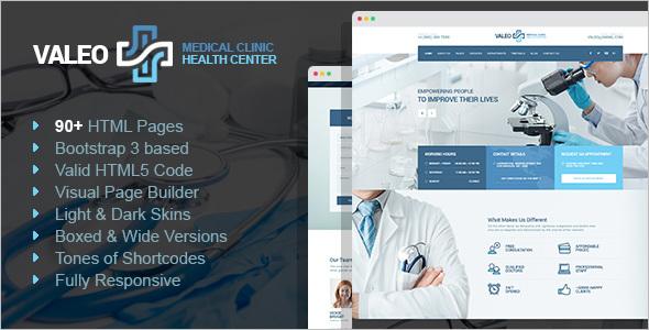 Hospital HTML Website Template