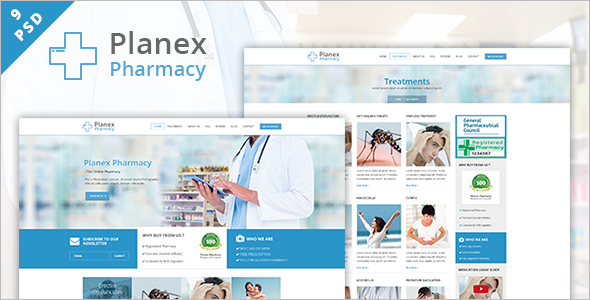 Hospital Responsive Website Template