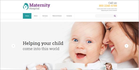 Hospital Website Theme