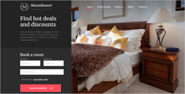 Hotel Web Responsive Template