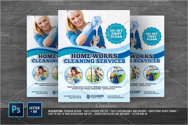 housekeeping flyer design ideas - Flyer Design Ideas