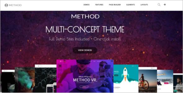 Huge Multi-Concept WordPress Theme