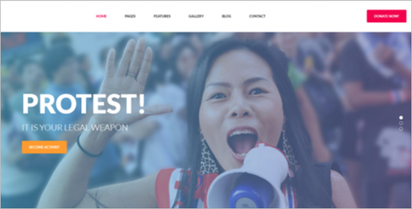 Indian Government Website Template