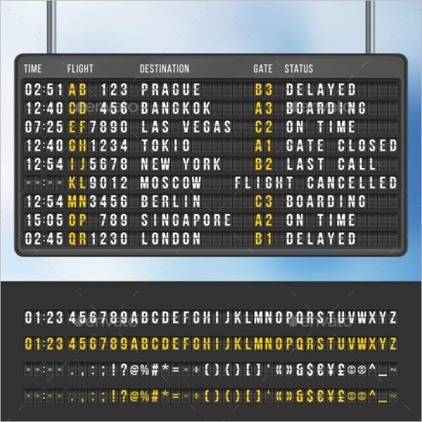 Information Scoreboard Template
