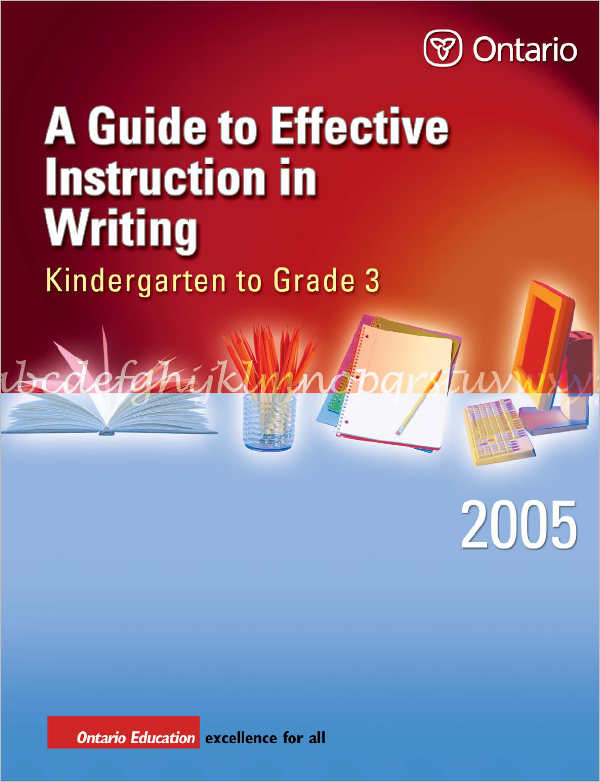 Instruction in Writing PDF