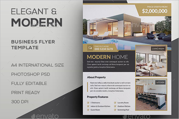 Latest Real Estate Flyer Template