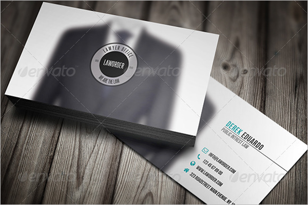 Lawyer Business Card Markrting