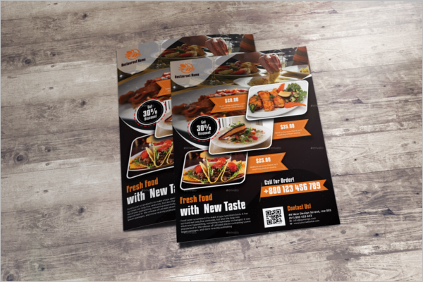 Lunch Flyer PSD Design