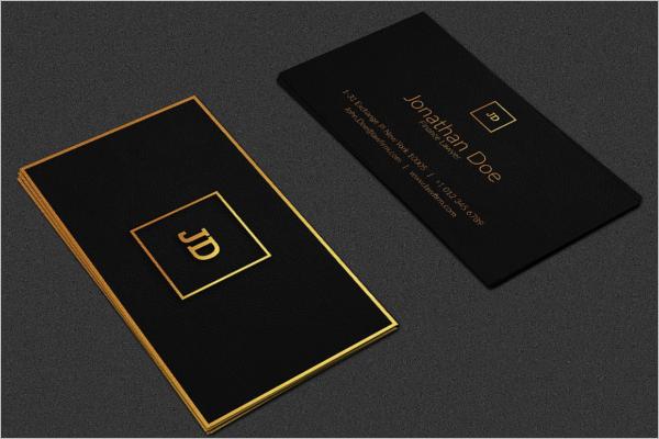 Luxury Lawyer Business Card