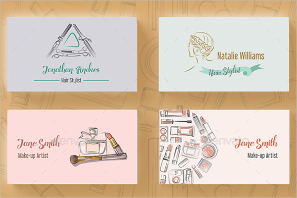Makeup Business Card Design Bundle