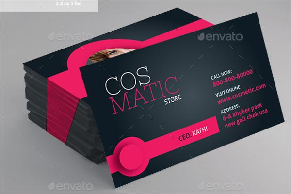 Makeup Business Card Template Bundle