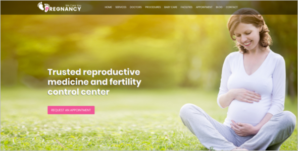 Medical Gynecologist HTML Template