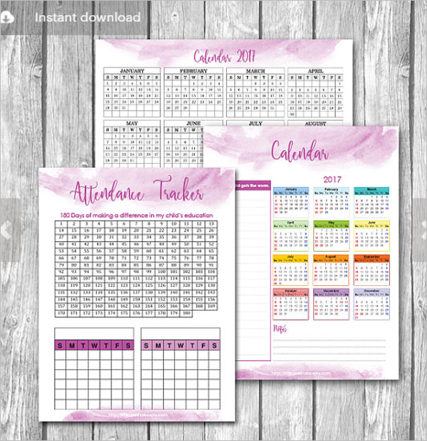 Meeting Attendance Sheet Template