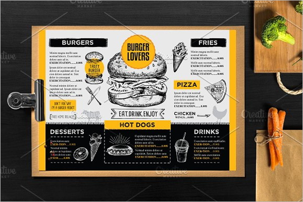 Menu Restaurant Bundle Template
