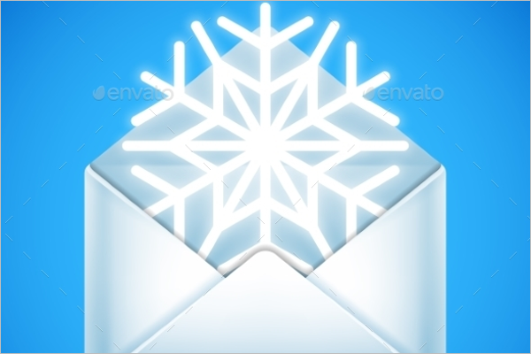 Merry Christmas Envelope Template