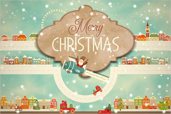 Minimal Christmas Greeting Cards