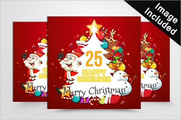 Minimal Christmas Web Banners