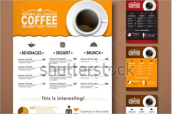 Minimal Coffee Menu Template