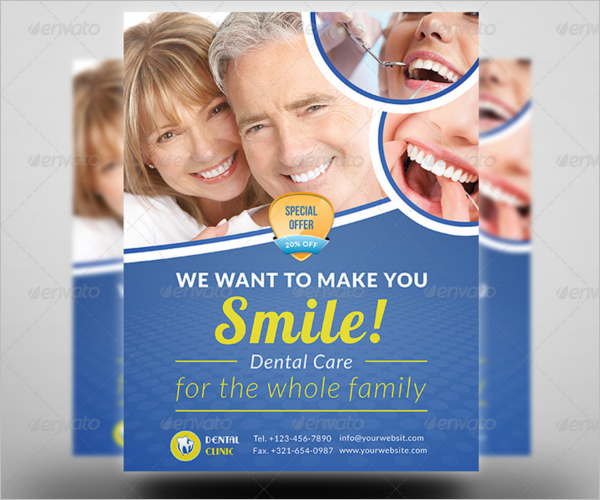Minimal Dental Care Flyer