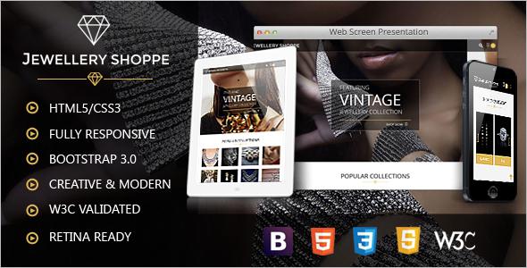 Minimal Ecommerce Website Template