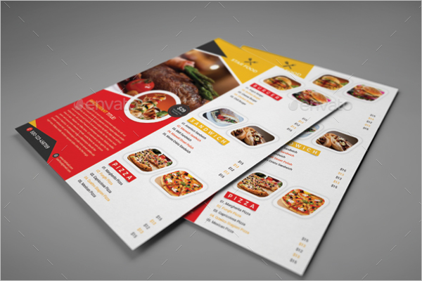 Minimal Lunch Flyer Template