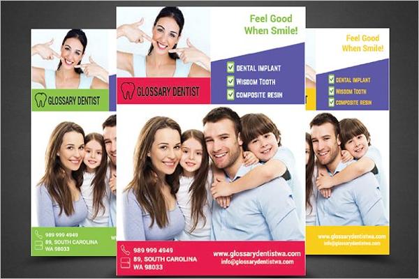 Model Dental Care Flyer