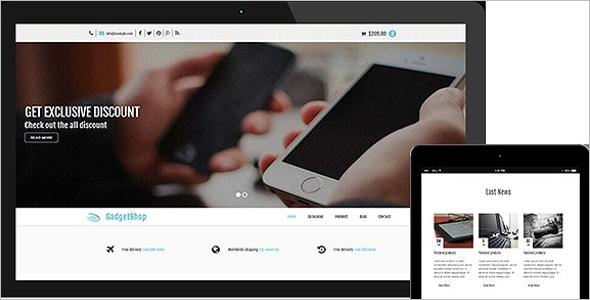 Modern ECommerce HTML Theme