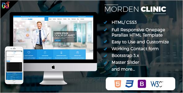 Modern Hospital Website Template