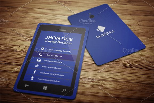 20 iphone business card templates free psd designs modern iphone business card template colourmoves Gallery
