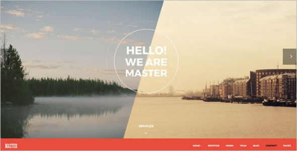 Multi Page HTML Website Template