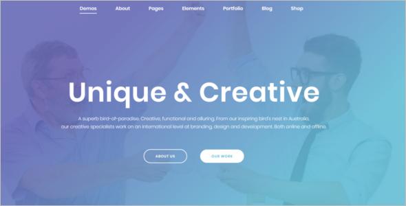 MultiPurpose HTML Website Template