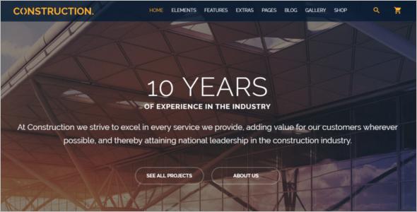 Multipurpose Construction Website Template