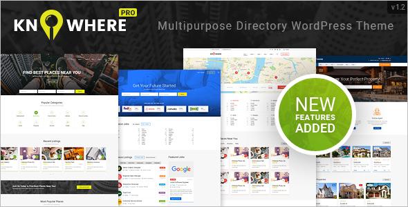 Multipurpose Directory WordPress Theme