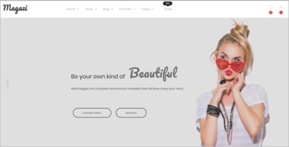 Multipurpose ECommerce HTML Template