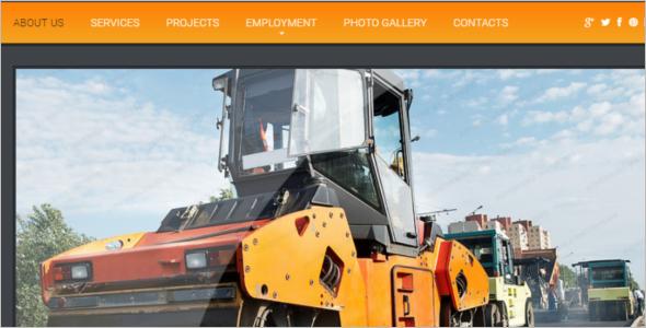 Multipurpose Engineering Website Template
