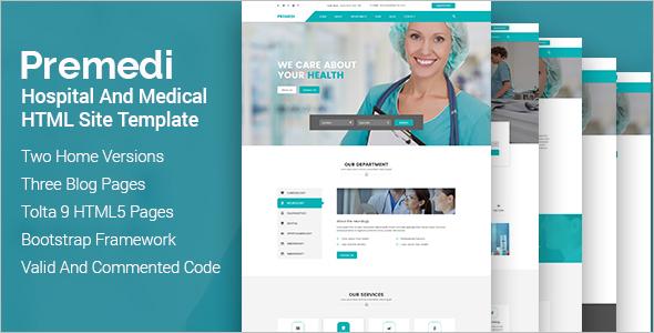 Multipurpose Hospital Website Theme