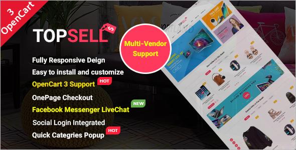 Multipurpose eCommerce Marketplace Theme