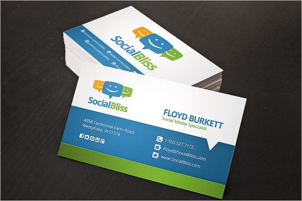 how to create a network business card