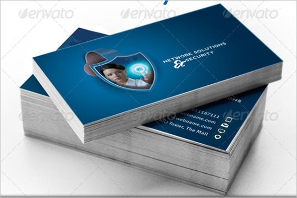 Network Business Card Template Bundle