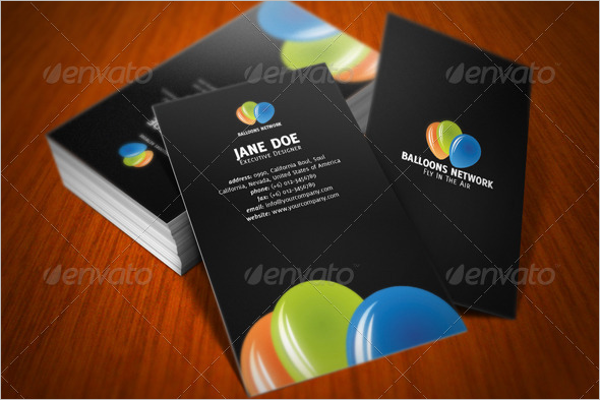 Networking Business Card Word