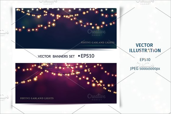 New Christmas Banner Template