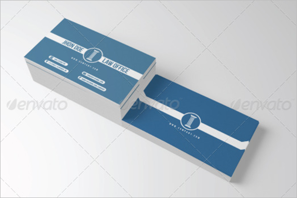 Office Business Card Holder Template
